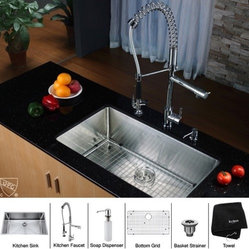 Shop 3 Hole Faucet With Side Spray And Soap Dispenser
