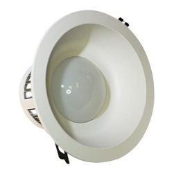 TorchStar - 12Watt Dimmable LED Recessed Ceiling Light- AC 90-150V, Warm White - Overview