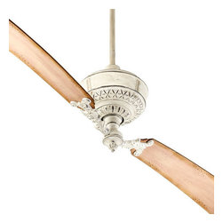 """Quorum International - Quorum International 28682 Turner 68"""" Sweep 2 Blade Indoor Ceiling Fan - Quorum International 28682 Turner 68"""" Sweep 2 Blade Indoor Ceiling FanThe distinctive appearance of this two bladed ceiling fan is further enhanced by the intricate decorative design on the motor housing and blade holders.Quorum International 28682 Features:"""
