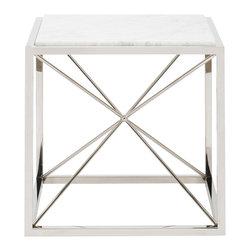 Vanguard Furniture - Vanguard Furniture Drumlins Lamp Table 9335L-MP-22SQC - Vanguard Furniture Drumlins Lamp Table 9335L-MP-22SQC