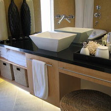 contemporary bathroom by Design Set Match