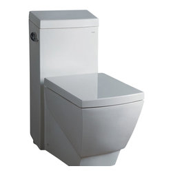 "Ariel - Ariel Platinum ""Aphrodite""  Contemporary One Piece White Toilet - Ariel cutting-edge designed one-piece toilets with powerful flushing system. It?s a beautiful, modern toilet for your contemporary bathroom remodel. Dimensions:  27.8 x 15 x 31.9, UPC Approved, 12"" Rough in For easy standard installation, High Quality Glaze that resist stains and Microbes, Seat is Included with the Toilet, Single flush (1.3gpf), Elongated Bowl, Elongated Bowl"