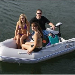 Solstice Sportster 265 Inflatable 3 Person Boat Set