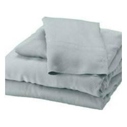 Bamboo Split King Sheet Set, Sky