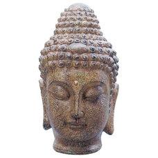 Chika Buddha Outdoor Garden Ornament | Bronze Lead Effect