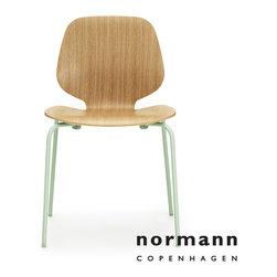Normann Copenhagen My Chair Oak/Green Green - Normann Copenhagen My Chair Oak (minimum order of 2)