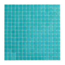Turquoise Glass Tile from Hakatai -