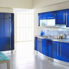 Modern Kitchen Cabinetry by Gene Sokol / Euroluxe Interiors