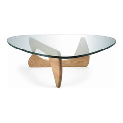 Fine Mod Imports - Tribeca Natural Hardwood Coffee Table - Features: