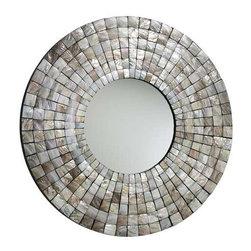 Mosaic Tile Mirror - Mosaic Tile Mirror
