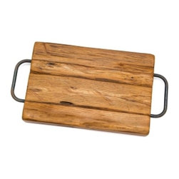 The Enchanted Home - Farmhouse Cutting Board - A beautiful practical cutting board made of reclaimed woods. This is a fabulous way to serve fruits, cheese and other appetizers.