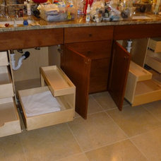 Bathroom Cabinets And Shelves by ShelfGenie of Seattle