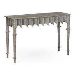 Jonathan Charles - Jonathan Charles Console Table Grayed - Product Details