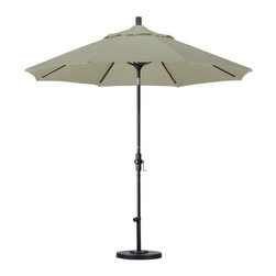 California Umbrella - California Umbrella Patio Umbrellas 9 ft. Aluminum Collar Tilt Patio Umbrella - Shop for Outdoor Patio Furniture at The Home Depot. Designed for convenience value and performance California Umbrella products bring the full weight of our design experience to your table. California Umbrella pioneered and developed the original and revolutionary Collar Tilt feature to tilt your umbrella to any degree you wish while you enjoy the afternoon and evening outside. We still boast the widest tilt degree in the Market allowing you to stay outside longer with your family and friends. Pacifica NEW by California Umbrella is a solution dyed polyester fabric perfected for use with our umbrellas. Our proprietary selection offers tremendous possibilities for color varieties and performance shade fabric.