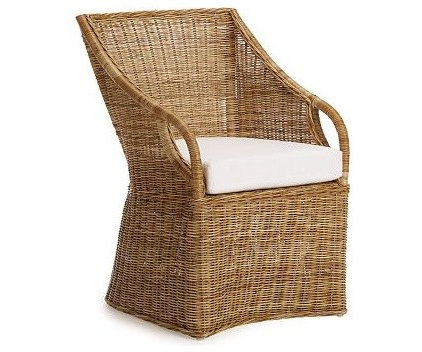 eclectic armchairs by Williams-Sonoma Home