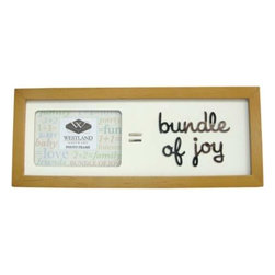 "WL - 2 x 3 Inch "" = Bundle of Joy"" Message Collectible Brown Photo Frame - This gorgeous 2 x 3 Inch "" = Bundle of Joy"" Message Collectible Brown Photo Frame has the finest details and highest quality you will find anywhere! 2 x 3 Inch "" = Bundle of Joy"" Message Collectible Brown Photo Frame is truly remarkable."
