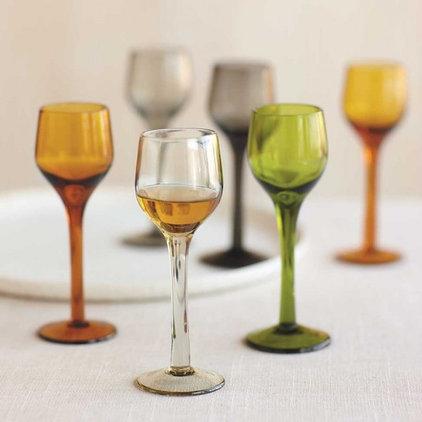 Contemporary Everyday Glassware by VivaTerra