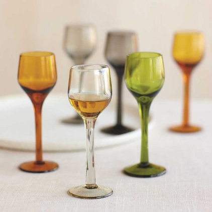 contemporary glassware by VivaTerra