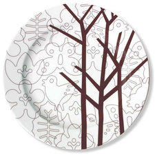 Contemporary Specialty Cookware Season Serving Plate by notNeutral