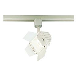Nora Lighting - Nora NTL-216 Barn Door Projector Line Voltage Track Fixture - Line voltage die cast aluminum barn door projector.