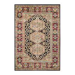 """Couristan - Cire` Crawford Rug 1392/7238 - 2'1"""" x 3'7"""" - True works of art for your floor, these area rugs are designed to adorn traditional stylings, as well as contemporary. Use a secondary color found in the palette of the area rug as inspiration for wall paint and add throw pillows with similar textures, to add a designer flair."""