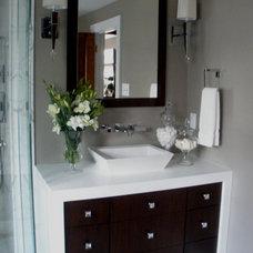 Modern Bathroom by Millennium Cabinetry