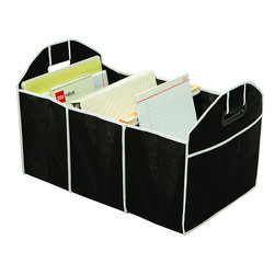Ruff & Ready - Ruff & Ready Trunk Organizer - You'll have the neatest trunk in town with the Ruff & Ready trunk organizer. This organizer is made from non-woven recyclable polypropylene.