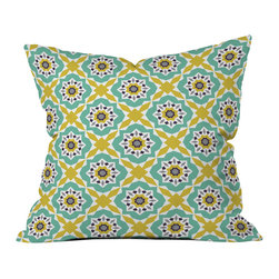Heather Dutton Mattonelle Outdoor Throw Pillow - Do you hear that noise? It's your outdoor area begging for a facelift and what better way to turn up the chic than with our outdoor throw pillow collection? Made from water and mildew proof woven polyester, our indoor/outdoor throw pillow is the perfect way to add some vibrance and character to your boring outdoor furniture while giving the rain a run for its money.
