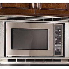contemporary microwave by Sears