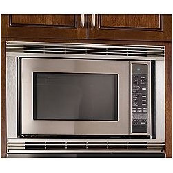 Dacor Discovery Convection Microwave, Stainless Steel - Our Convection Microwave brings together the speed and convenience of a microwave with the browning and crisping capabilities of a convection oven. There is even a combination mode using convection heat to seal and brown the outside while microwave energy cooks the inside - ideal for quickly turning out a beautifully baked Quiche or Peach Cobbler. Our trim kits create the finishing touch for a wall-mount installation.