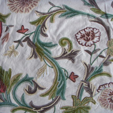 Craftsman Upholstery Fabric by Crewel Fabric World by MDS