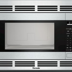 Thermador - Built-in Traditional Microwave MBES - Bring practicality and elegance to your kitchen with a built-in microwave. Our traditional model features quick defrost, smart sensor, 10 power settings, and stainless steel trim kits.