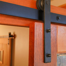 Traditional Home Improvement by Real Sliding Hardware