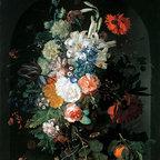 Bouquet of Flowers | Huysum | Canvas Print - Condition: Canvas Print - Unframed