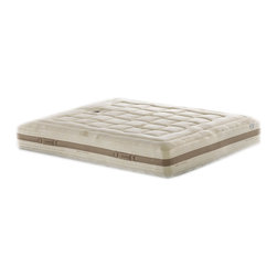 Magniflex - Magniflex Toscano Cotton Grande Dual 12 Mattress, Cal King - Unique six layer mattress. This mattress is a part of Toscana Collection. This collection is inspired by Nature. Mattress from this collection comprised of 100% organic cotton fabrics and Eco-responsible memory foams. Ecogreen and Geomemory layers on both sides with Mallow Foam layer on one side delivering soft spinal support. Dualcore (Queen and King) layer provides two comfort levels by flipping core. Soft fiber and memory foam top offers maximum comfort. Organic fabric cov
