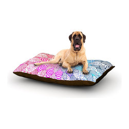 "Kess InHouse - Monika Strigel ""Rainbow Dots"" Fleece Dog Bed (50"" x 60"") - Pets deserve to be as comfortable as their humans! These dog beds not only give your pet the utmost comfort with their fleece cozy top but they match your house and decor! Kess Inhouse gives your pet some style by adding vivaciously artistic work onto their favorite place to lay, their bed! What's the best part? These are totally machine washable, just unzip the cover and throw it in the washing machine!"