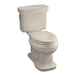 Kohler Bancroft Comfort Height Elongated Toilet - One of our favorite Kohler designs, so classic. We will be using this ourselves in our Chicago apartment remodel. Perfect and priced very well.