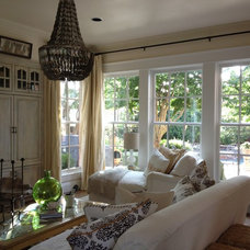 Eclectic Living Room by Girl Meets Lake