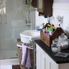 Eclectic Bathroom by Susan Duane