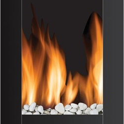 "Frigidaire MWF-10304 Monaco 1500w / 750w 110v Electric Wall Hung LED Fireplace - Frigidaire's MWF-10304 Monaco Vertical Wall Hanging LED Fireplace adds  instant warmth and a modern style to your living space. This wall  hanging fireplace brings comfort to any room with its dual heat  settings. The fireplace comes with real pebbles to compliment the  realistic flame effect that operates with and without heat to create a  remarkable ambiance in any season. You can continue to enjoy the beauty  and glow of the flames even when you don't need the heat. The fireplace  has a built-in automatic overheat protection that puts you at ease  during unexpected power fluctuations and accidental vent blockage. It  includes mounting hardware to mount safely on virtually any wall, while  it's remote control let's you easily control this masterpiece from your  bed or couch. Plus, with the heat resistant tempered glass panel, this  elite and stylishly designed fireplace is simply fascinating and a  must-have for every home3530aFeatures: - Monaco Vertical Style Wall Hanging LED Fireplace heats up to 400 sq. ft.- Dual heat settings (750 Watts/2500 BTU; 1500 Watts/5000 BTU) offers flexibility to choose your heating preference- Built-in overheat protection with auto safety shut-off- Realistic LED flame effect- Flames operate with and without heat- Flames include adjustable brightness- Flames do not include realistic crackling sound- Heat resistant tempered glass panel- Real pebbles and remote control included- Modern wall mount design brings comfort to any room dcor- No assembly or hardware needed, simply plug in and heat- Size: 34.5""H x 5.3""D x 22.8""WSPECIFICATIONS:- Modern vertical style wall mount electric fireplace- Dual heating setting: 750/1500 Watts; 2500/5000 Heat BTU- Realistic-effect LED flames- Flames operate with and without heat- Adjustable flame brightness- Heat resistant tempered glass panel- Built-in overheat protection, auto safety shut-off- Real pebbles included- All hardware included- Remote control included- 1-year limited warranty"