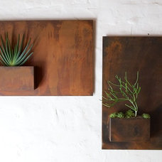 Contemporary Outdoor Planters by Potted