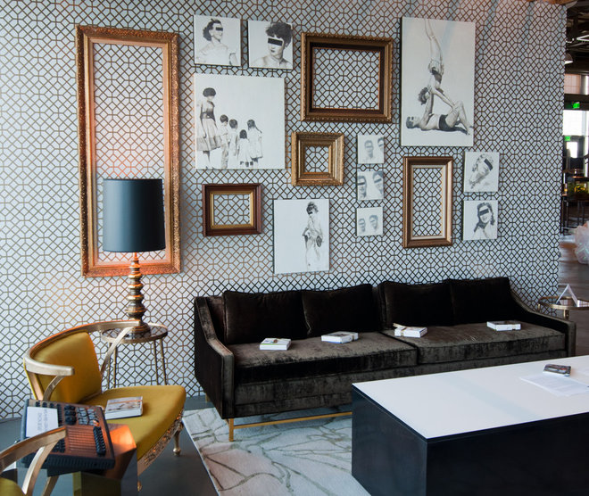 Eclectic  Polished Chaos by Lizette Marie Interior Design