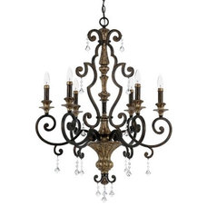 traditional chandeliers by Lumens