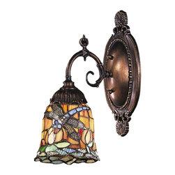 Elk Lighting - Elk Lighting 071-TB-12 Mix-N-Match Traditional Wall Sconce - Mix-N-Match 1-Light Sconce In Tiffany Bronze