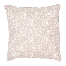 Jaipur - Bruxelle Pillow Set of 2 - Funky range of pillows in poly dupione use rich jewel tones expressed in a highly textural and fun way. Perfect for a touch of retro glamour in your home.