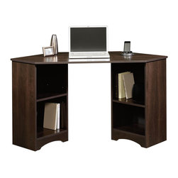 Sauder - Sauder Beginnings Corner Desk in Cinnamon Cherry Finish - Sauder - Home Office Desks - 413073