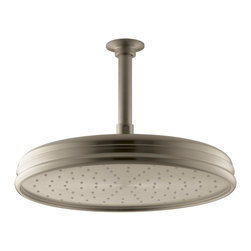 """KOHLER - KOHLER K-13694-BV Traditional 12"""" Round Rain Showerhead - KOHLER K-13694-BV Traditional 12"""" Round Rain Showerhead in Vibrant Brushed Bronze"""