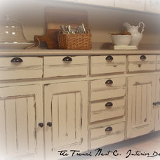 Traditional Kitchen by The French Nest Co. Interior Design