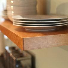 Contemporary Kitchen Drawer Organizers by Jeff Barratt Woodworking, LLC