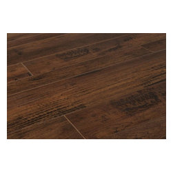 Lamton - Lamton Laminate - 12mm Random Width Oldmill Collection - [22.5 sq ft/box] - Fruitwood Oldmill -  The old-world look of real hardwood is achieved on a new level with the Oldmill Random Width Collection on the Lamton label.    In each box, you will see a set of 7��_/5��_/3��_ width boards. Mix and match them according to your own creative ideas for layout. Whether you embrace the randomness, or decide to create your own specifically designed layout, your installation will be unique to you. The varied plank width sets this collection apart from any other laminate on the market and creates a truly authentic hardwood appearance    Expertly made, innovative laminate flooring    Designed with precision in Germany, each option in the collection is designed to look and even feel like a real wood surface. The intricate processes of manufacturing present a flooring surface with four-sided beveled edges with French bleed, handscraped effects, and textures , colors, and grain patterning of the most admired wood surfaces in the world.    Each option in the Oldmill Collection is designed to endure. The boards are treated with melamine wear layer with aluminum oxide for added resistance against wear. The AC3 rating means that you can install these floors in any general residential space where laminate floors are practical. And installing them is designed to be straightforward, with DIY-friendly locking systems that make each board easily connected with another.    Stylish, innovative random width laminate floors at best pricing    We are excited to be able to present this line of random width laminate floors, each one designed to provide meticulous detailing of patterns, colors, and expert board design for the transformation of 21st century spaces. Our manufacturing partners are the experts at creating the laminate floors that only the pros can spot as being laminates; the colors, patterns, and contours convince everyone else that they're real hardwood.    And we at BuildD